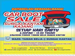 kalendar cbs sk 2020, offline marketing, carboot sale sungai kantan